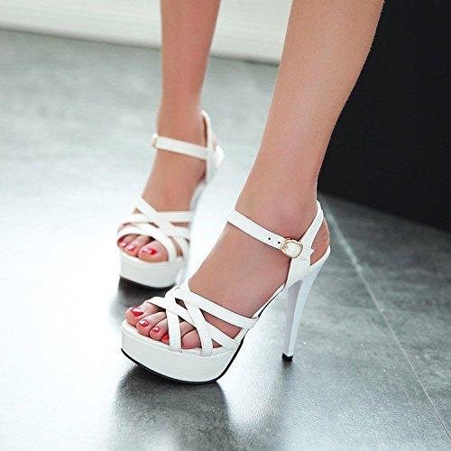 Heels Lin Sandalen Schuhe Für Wasserdichte Frauen Sommer Wilde Mit Sommer Frauen Weiß Neue Wedges Weiß Xing High Schuhe Plattform zwxAdRqzHg