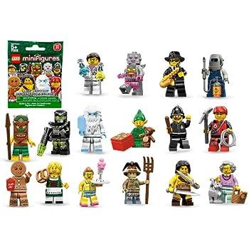 Amazon.com: LEGO Minifigures Series 11, Yeti: Toys & Games
