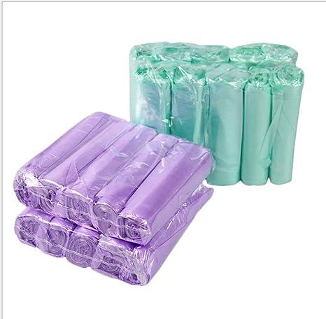 Diez rollos de bolsas de basura de colores no son manos ...