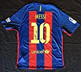 Signed Lionel Messi Jersey - @ private signing. COA - PSA/DNA Certified - Autographed Soccer Jerseys