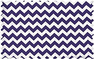 product image for SheetWorld Purple Chevron Zigzag Fabric - By The Yard