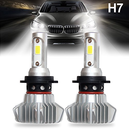 H7 LED Headlight Bulbs Car All-in-One Conversion Kit Super Bright COB Chip...