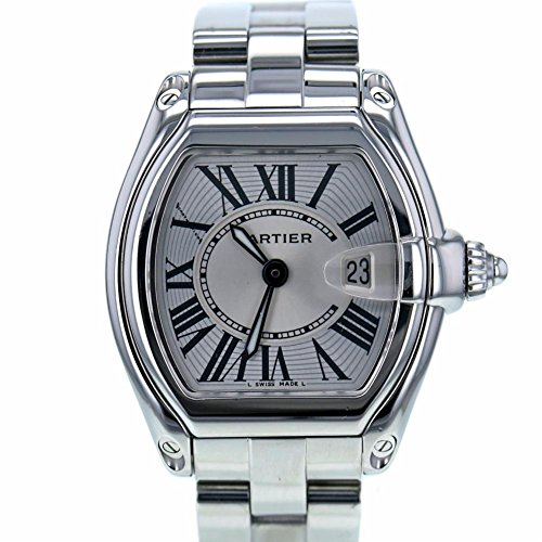 Cartier Roadster swiss-quartz mens Watch W62016V3 (Certified Pre-owned)