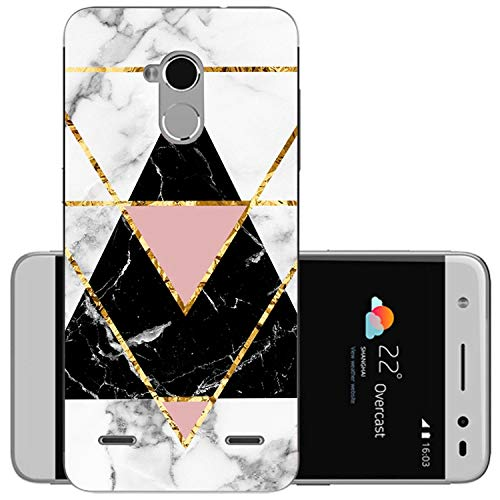 Soft Phone Case Silicon Case Painted Phone Back Protective Case for ZTE Blade V7 Lite,23,Soft ZTE V7 Lite