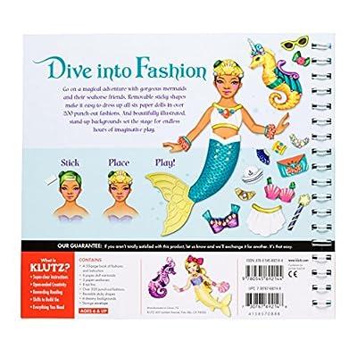Klutz The Marvelous Book of Magical Mermaids: Steele-Saccio, Eva: Toys & Games
