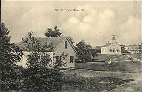 - General View of Town Union, Connecticut Original Vintage Postcard