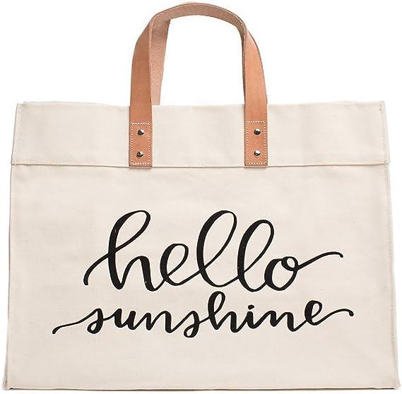 Shopping Bag Large Beach Tote Bag Sunshine Market Tote