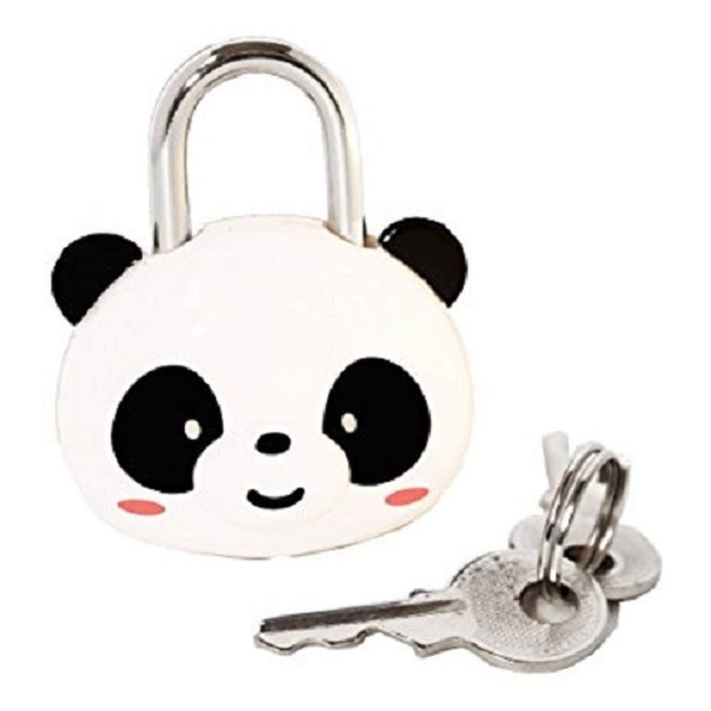 8b49e0009f5c Cute Cartoon Mini Panda Padlock- Safety Lock Luggage Lock for Gym ...