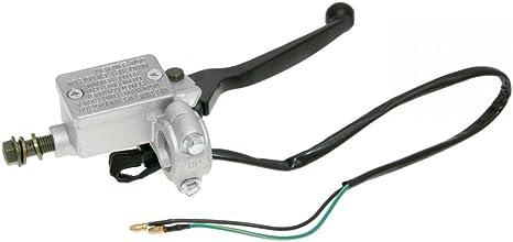 Bremspumpe//Bremszylinder mit Handbremshebel vorn f/ür GY6 125//150ccm