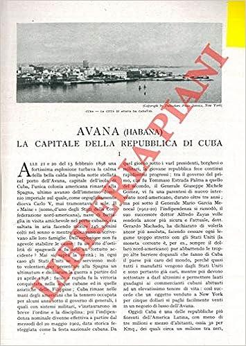 Cartina Muta Cuba.Avana Habana La Capitale Della Repubblica Di Cuba De Passera G Amazon Com Books