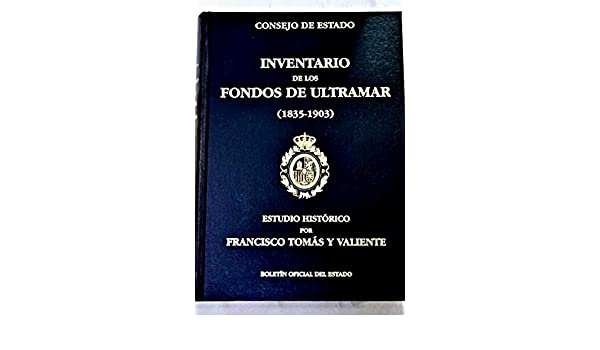 Fondos de ultramar (1835-1903) (Spanish Edition): Spain: 9788434006959: Amazon.com: Books