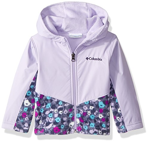 Price comparison product image Columbia Kids & Baby Toddler Kids Steens Mt Overlay Hoodie, Soft Violet Floral Print 4T