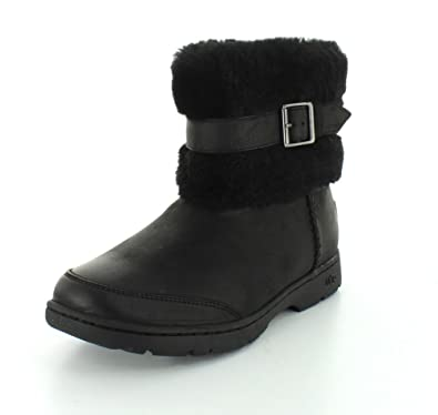 Womens Boots UGG Brielle Black Leather