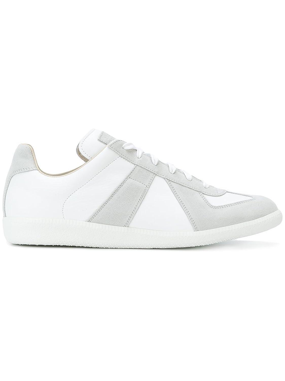 Maison Margiela メンズ S57WS0175SY0644101 ホワイト 革 運動靴 B07CXYGRQ3