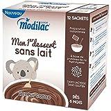 Modilac Mon 1er Dessert Sans Lait 12 Sachets - Goût : Cacao