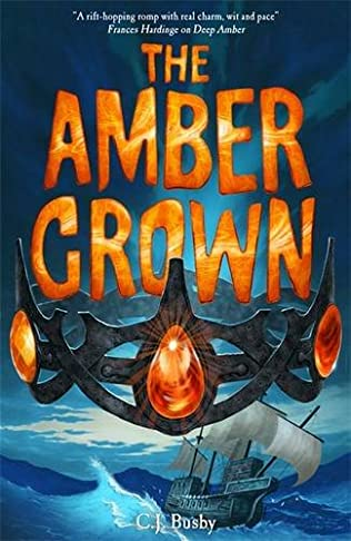 book cover of The Amber Crown