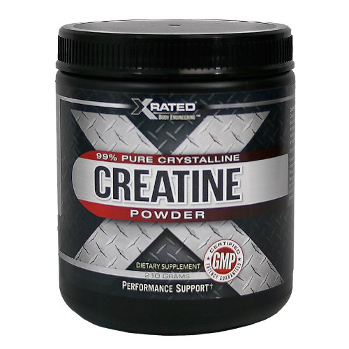 Xrated Body Engineering Creatine Powder (210 grams) For Sale