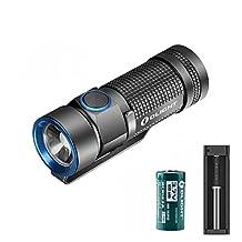 Bundle:Olight S1 Baton Waterproof Flashlight Cree Xm-l2 Cw LED 500 Lumens +Xtar Mc1 Battery Charger+Olight Rcr123a Battery +Skyben Holster+Olight Beam Diffuser
