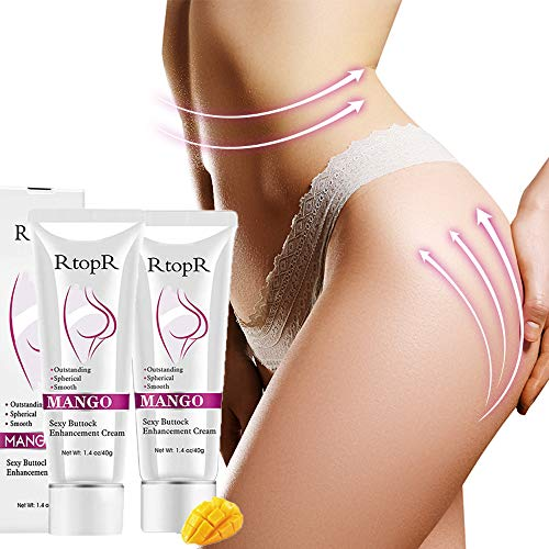 Ownest 2Pcs Sexy Hip Buttock Enlargement Cream, Effective Shaping Eliminate Printing Firming Buttock, Hip Lift Up Butt Skin Enlargement Massage Sexy Hip Cream