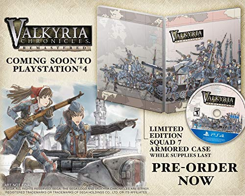 Sega - Valkyria Chronicles Remastered PlayStation 4 Standard Edition