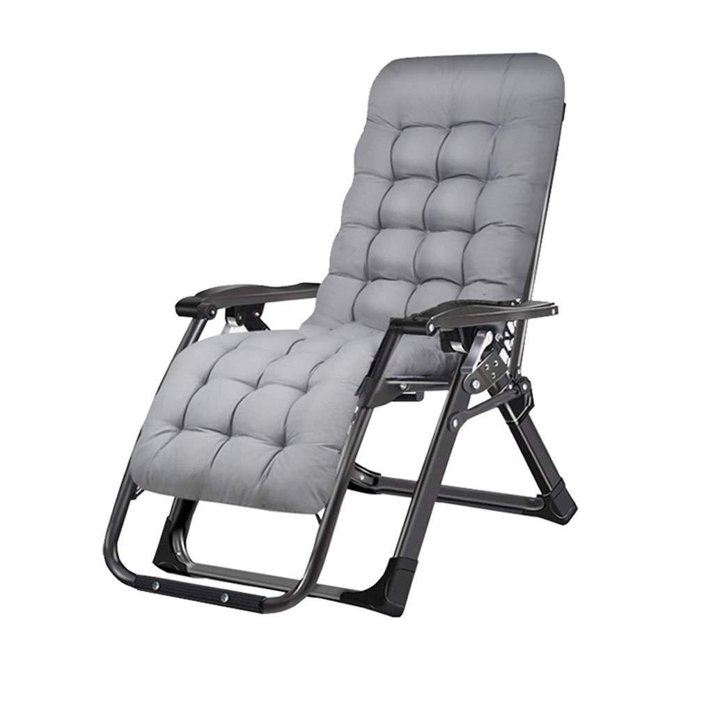 折りたたみデッキチェアリクライニングチェアチェア背もたれアームチェアビーチサンラウンジャーガーデンチェアキャンプ折りたたみチェアホームオフィス睡眠椅子妊娠中の女性リクライニングチェア,B B07SHG13P1 B