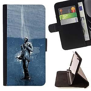 Momo Phone Case / Flip Funda de Cuero Case Cover - Spy TF;;;;;;;; - Samsung ALPHA G850