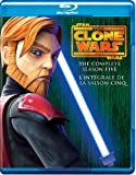Star Wars: The Clone Wars - The Complete Season Five  [Blu-ray] (Bilingual)