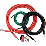 Cobra CPI-A4000BC 4-AWG Heavy-Duty AC Power Inverter Cable Kit