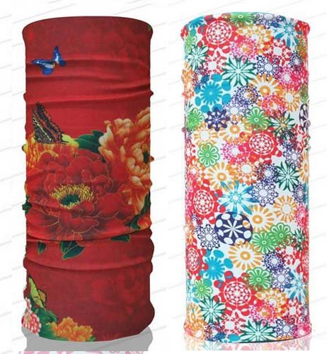 Floral Colorful Headwear 144043 Biker Bb Gun Fishing Angler Extreme Motocross by Tamegems