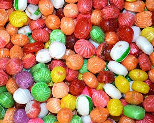 Seasonal Deluxe Christmas Mix Hard Filled Candy 2 Lbs