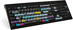 LogicKeyboard DaVinci Resolve 15 - Mac ASTRA Backlit Keyboard - US English