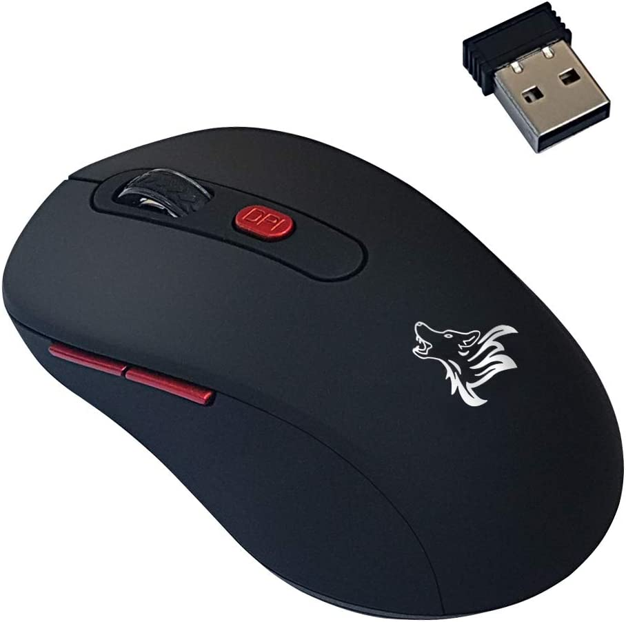 Mouse inalambrico con 3 niveles de DPI ajustables-S3QH