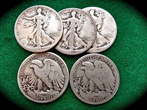 1933 -S Walking Liberty Half Dollar -- 90% Silver - Grading Walking Liberty Half Dollars