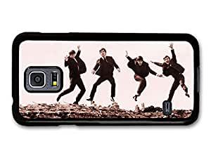 The Beatles Jumping Sepia Rockstars case for Samsung Galaxy S5 mini hjbrhga1544