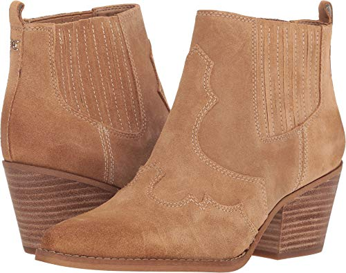 Sam Edelman Women's Winona Ankle Boot, Camel, 8.5 Medium US