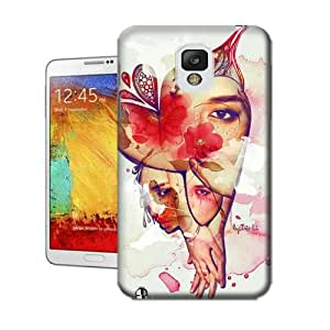 Lavender's shop Women-in-Love TPU Protective Cover Case For Samsung Galasy Note3