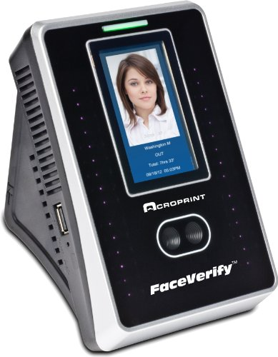 Acroprint timeQplus FaceVerify Facial Recognition Time and Attendance System Time Clock (Best Face Recognition Time Clock)
