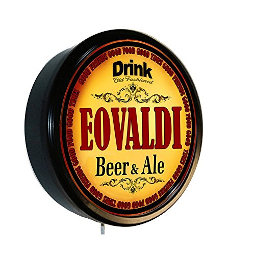 EOVALDI Beer and Ale Cerveza Lighted Wall Sign