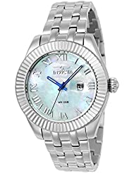 Invicta Womens 23646 Wildflower Quartz 3 Hand White Dial Watch