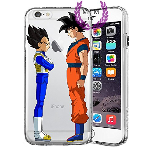 MIM UK Dragon Ball Z Super GT iPhone Case Covers Compatible for All iPhones (iPhone 6 Plus/6s Plus, Friends)