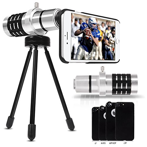 Cheap Lens Attachments Telephoto Lens For Iphone – Luxsure Aluminum Phone Camera Lens Kit for..