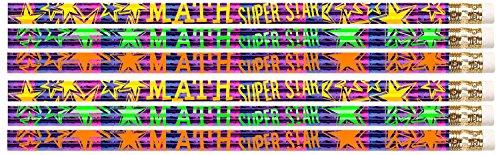 D2500 Math Super Star - 36 Mathematics Pencils