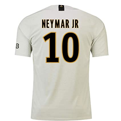 2f5118890 Amazon.com   2018-19 PSG Away Football Soccer T-Shirt Jersey (Neymar ...