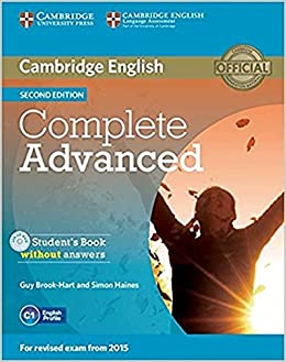 Complete Advanced Student's Book Without Answers With Cd-rom Second Edition por Guy Brook-hart