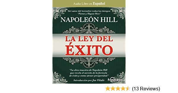 Napoleon hill la ley del exito amazon music fandeluxe Gallery