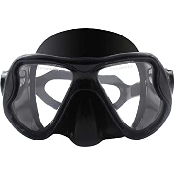 lantusi Adults Women Men Adjustable Swimming Training Diving Mask Goggles Goggles