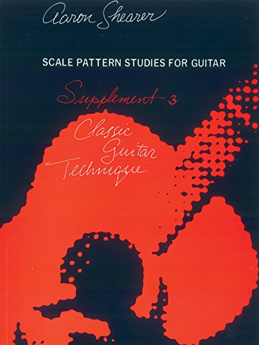 Scale Pattern Studies For Guitar, Supplement 3: Classic Guitar Technique