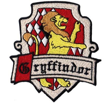 GRYFFINDOR Harry Potter Zauberer costume Uniform Coat Iron on Patch Badge]()