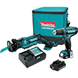 Cheap Makita CT229R CXT Lithium-Ion Cordless Combo Kit (2 Piece), 12V