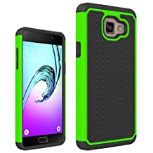 """Galaxy A5 2016 Case, Gefee® Full Body Hybrid Armor Protection Shockproof Defender Case Cover for Samsung Galaxy A5 (2016) 2nd Gen A510F 5.2"""" (Green )"""